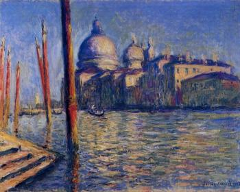 Claude Oscar Monet : The Grand Canal V