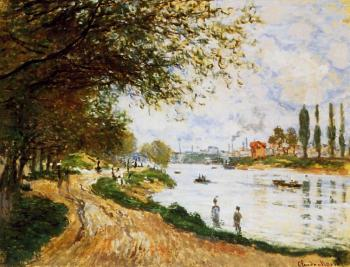 Claude Oscar Monet : The Isle La Grande Jatte