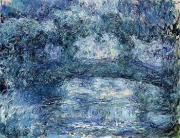 Claude Oscar Monet : The Japanese Bridge VII