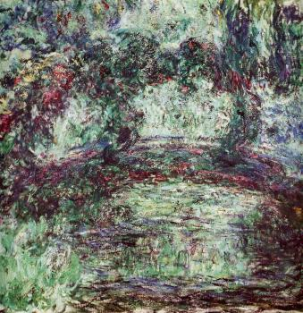 Claude Oscar Monet : The Japanese Bridge VIII