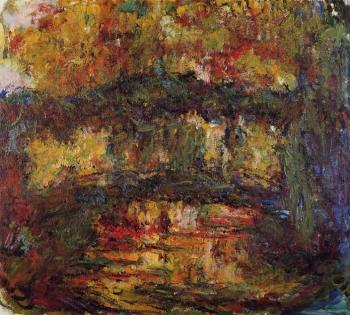 Claude Oscar Monet : The Japanese Bridge IX