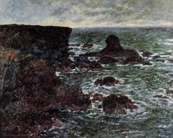 Claude Oscar Monet : The Lion Rock, Belle-Ile
