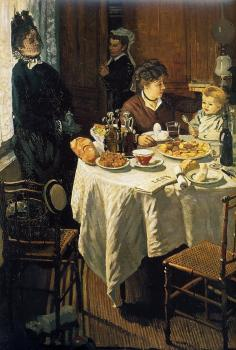 Claude Oscar Monet : The Luncheon II