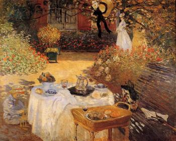 Claude Oscar Monet : The Luncheon III