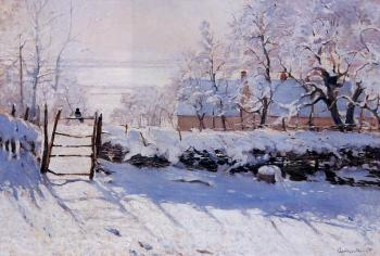 Claude Oscar Monet : The Magpie