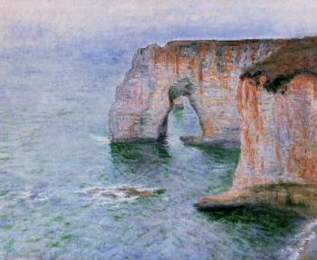 Claude Oscar Monet : The Manneport Seen from the East