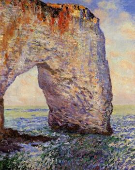 Claude Oscar Monet : The Manneport, Etretat II