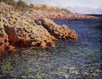 Claude Oscar Monet : The Meditarranean at Antibes III
