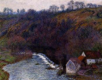 Claude Oscar Monet : The Mill at Vervy