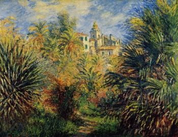 Claude Oscar Monet : The Moreno Garden at Bordighera
