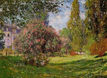 Claude Oscar Monet : The Parc Monceau, Paris
