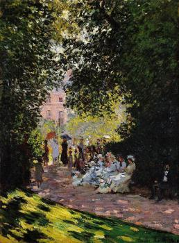 Claude Oscar Monet : The Parc Monceau, Paris II