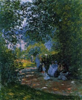 Claude Oscar Monet : The Parc Monceau, Paris III