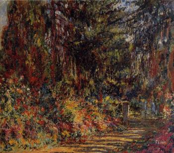 Claude Oscar Monet : The Path at Giverny