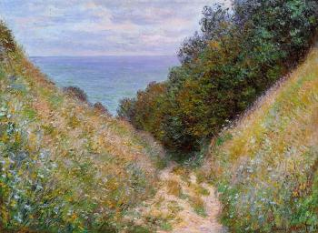 Claude Oscar Monet : The Path at La Cavee, Pourville