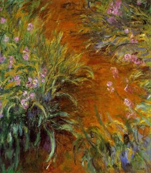 Claude Oscar Monet : The Path through the Irises