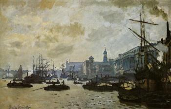 Claude Oscar Monet : The Port of London