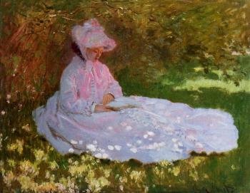 Claude Oscar Monet : The Reader