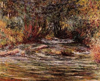 Claude Oscar Monet : The River Epte at Giverny