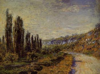 Claude Oscar Monet : The Road from Vetheuil