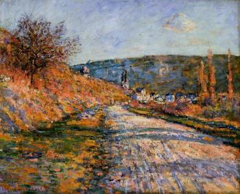 Claude Oscar Monet : The Road to Vetheuil