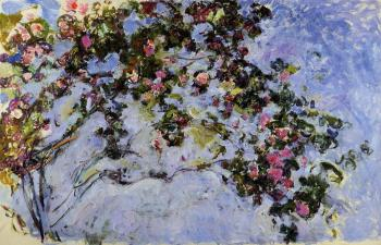 Claude Oscar Monet : The Rose Bush