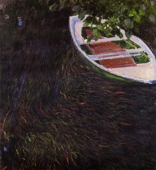 Claude Oscar Monet : The Row Boat