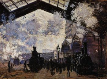 Claude Oscar Monet : The Saint-Lazare Station