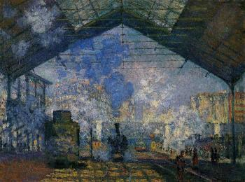 Claude Oscar Monet : The Saint-Lazare Station II