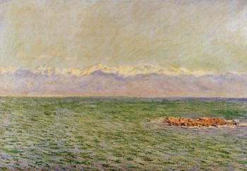 Claude Oscar Monet : The Sea and the Alps