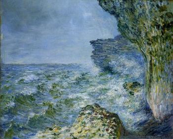 Claude Oscar Monet : The Sea at Fecamp II