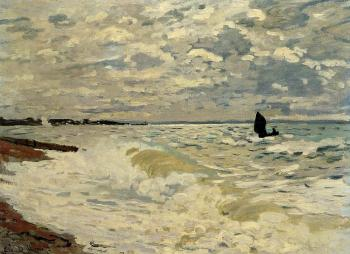 Claude Oscar Monet : The Sea at Saint-Adresse