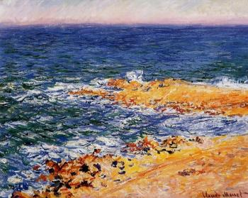 Claude Oscar Monet : The Sea in Antibes