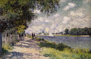 Claude Oscar Monet : The Seine at Argenteuil III