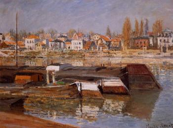 Claude Oscar Monet : The Seine at Asnieres