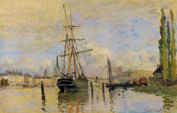 Claude Oscar Monet : The Seine at Rouen II