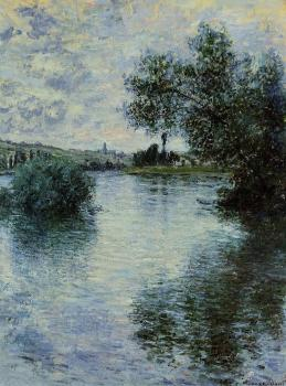 Claude Oscar Monet : The Seine at Vetheuil
