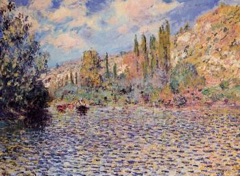 Claude Oscar Monet : The Seine at Vetheuil II