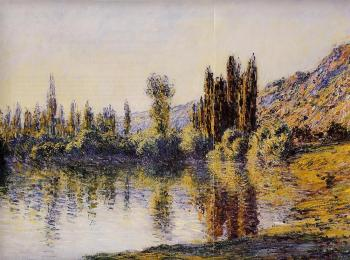 Claude Oscar Monet : The Seine at Vetheuil III