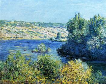 Claude Oscar Monet : The Seine at Vetheuil IV