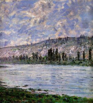 Claude Oscar Monet : The Seine at Vetheuil V