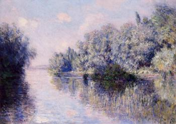 Claude Oscar Monet : The Seine near Giverny