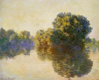Claude Oscar Monet : The Seine near Giverny III
