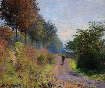 Claude Oscar Monet : The Sheltered Path