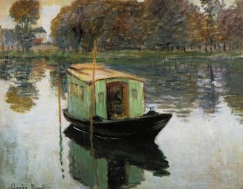 Claude Oscar Monet : The Studio Boat II