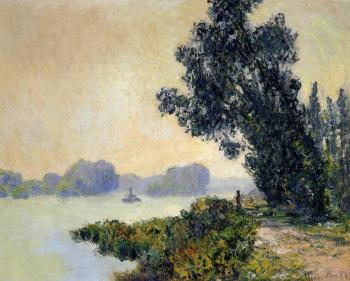 Claude Oscar Monet : The Towpath at Granval