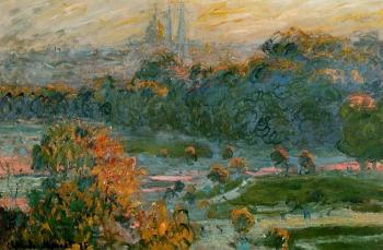 Claude Oscar Monet : The Tuileries II