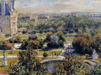 Claude Oscar Monet : The Tuileries III