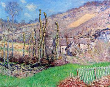 Claude Oscar Monet : The Val de Falaise, Giverny