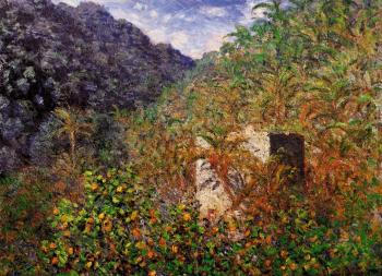 Claude Oscar Monet : The Valley of Sasso, Bordighera II